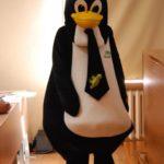 Maskotka - pingwin SUSE
