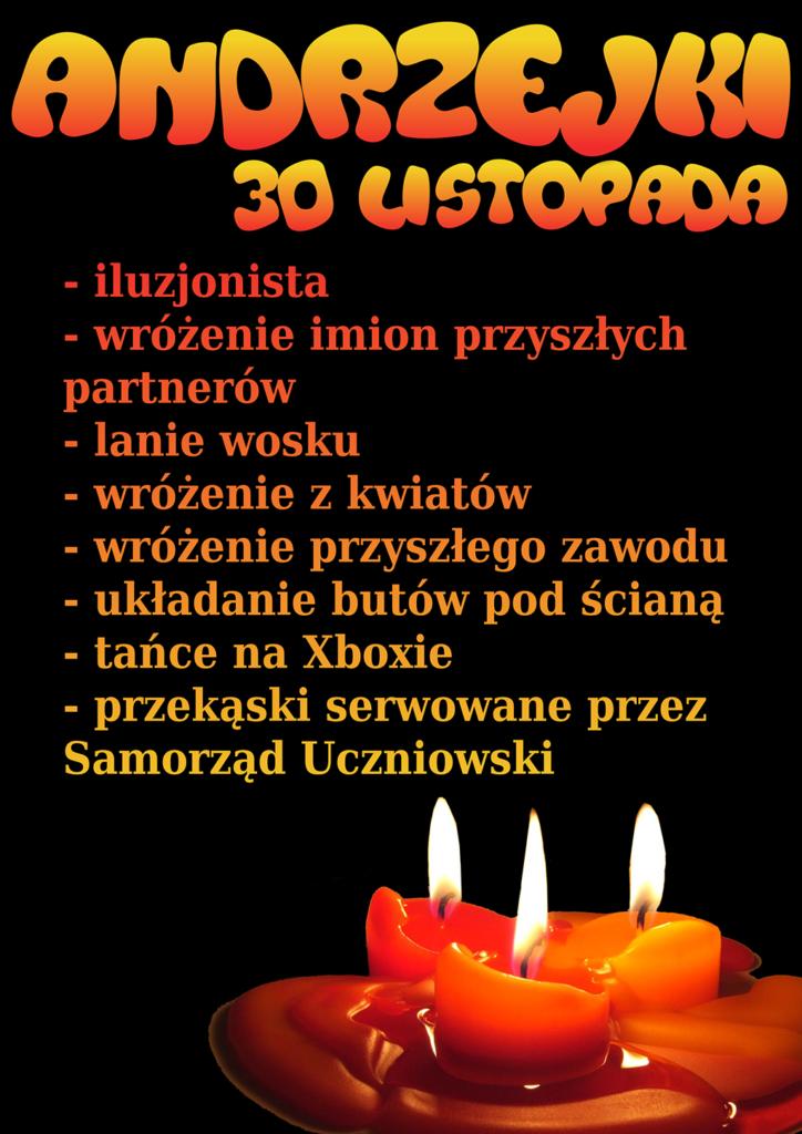 Andrzejki 2016