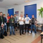 Uczestnicy w sali