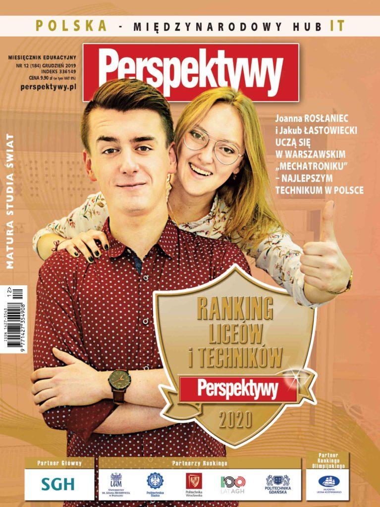 """MAMY TO !!! Warszawski """"Mechatronik"""" po raz kolejny najlepszym technikum w Polsce, a Liceum na 3. miejscu wg EWD !"""