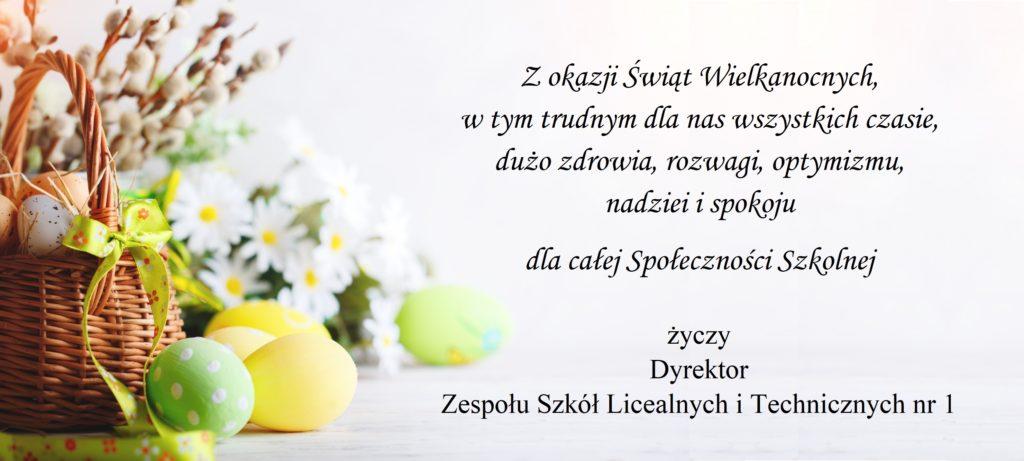 Życzenia Wielkanocne 2020
