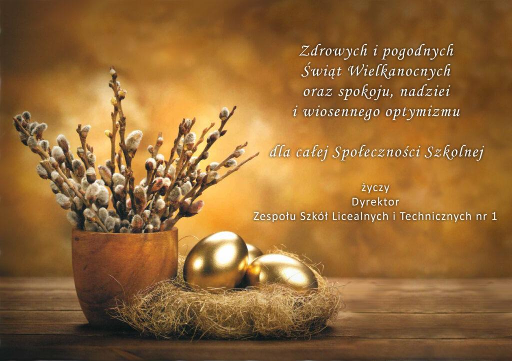 Życzenia świąteczne - Wielkanoc 2021